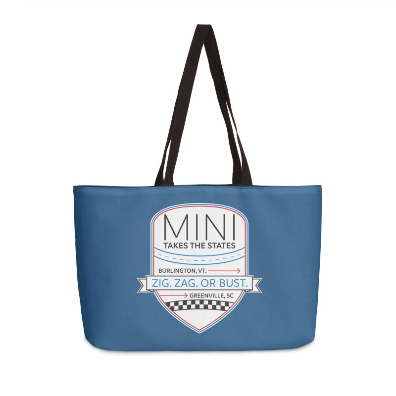 Mini Takes the States 2021 Accessories Bag by TwistyMini Motoring Shirts