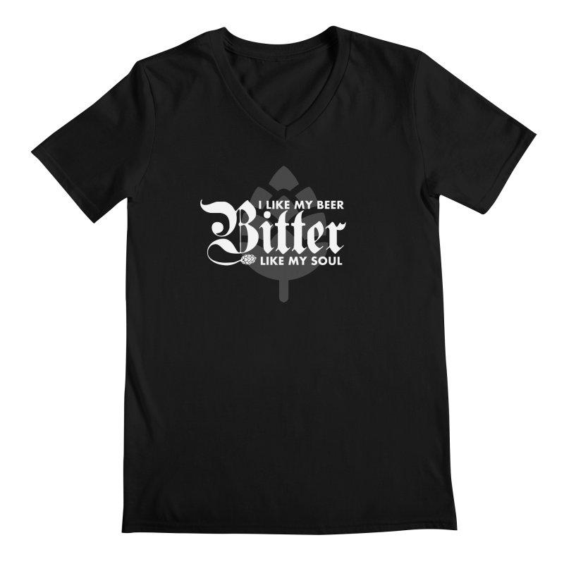 Bitter Men's V-Neck by TwistyMini Motoring Shirts