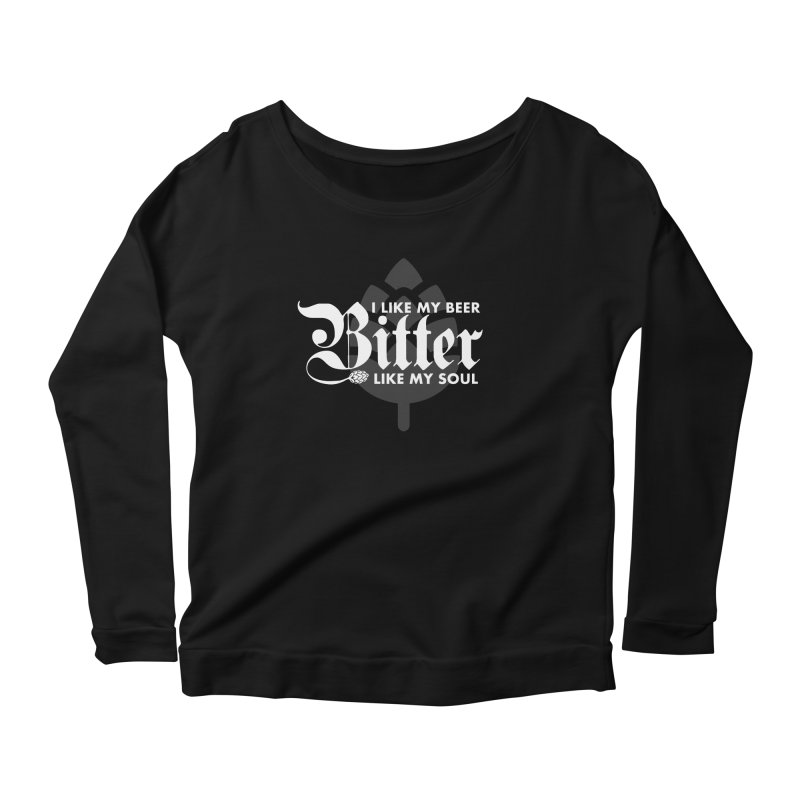 Bitter Women's Scoop Neck Longsleeve T-Shirt by TwistyMini Motoring Shirts