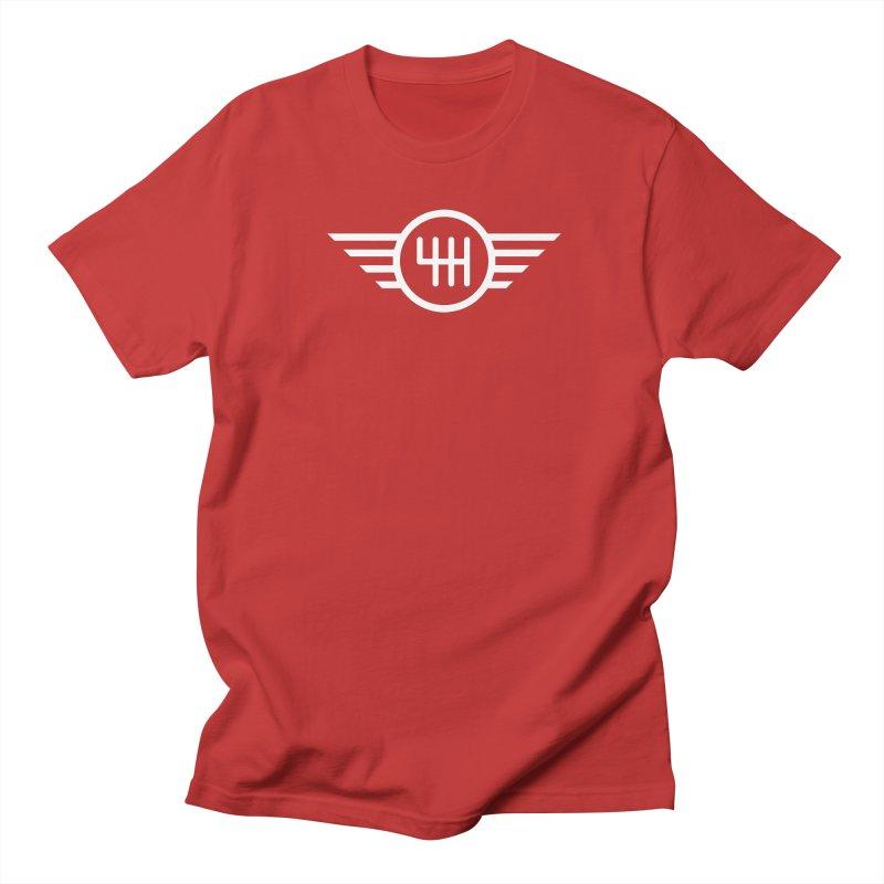 6-Speed Manual Men's Regular T-Shirt by TwistyMini Motoring Shirts