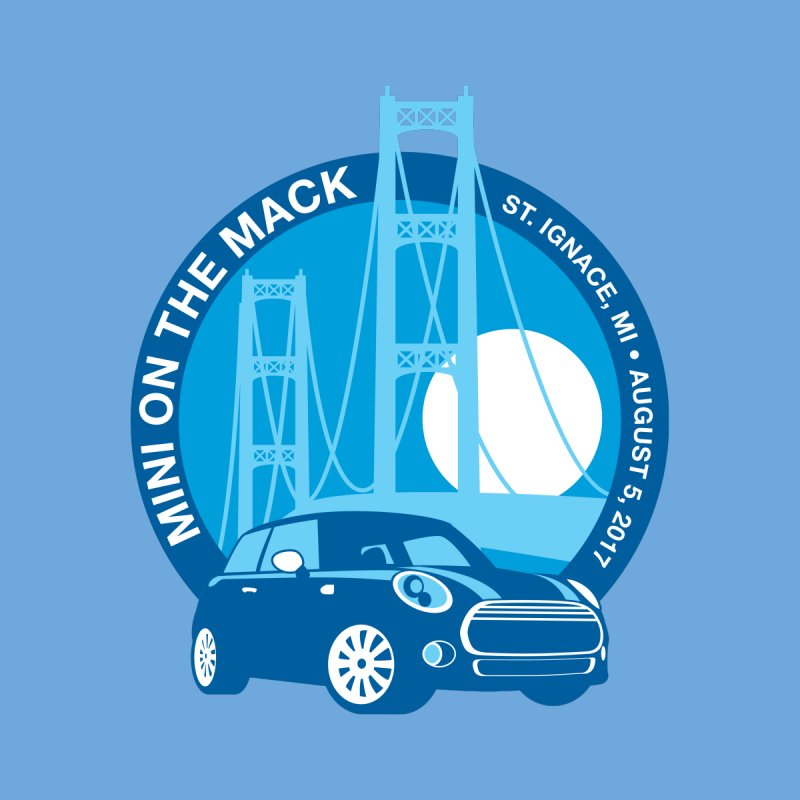MINI on the Mack 2017 by TwistyMini Motoring Shirts