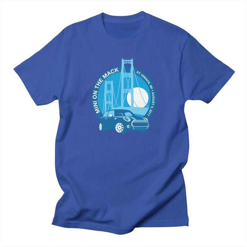 MINI on the Mack Men's T-Shirt by TwistyMini Motoring Shirts