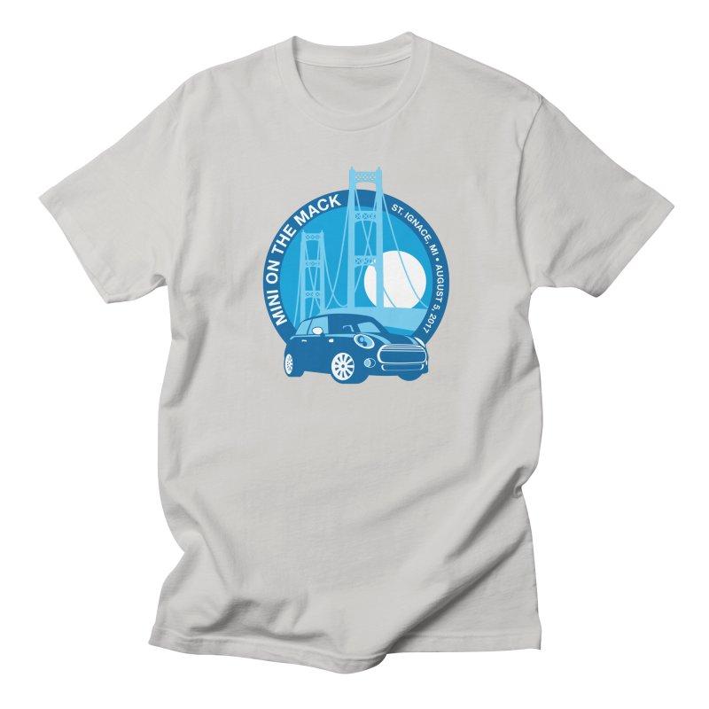 MINI on the Mack 2017 Men's Regular T-Shirt by TwistyMini Motoring Shirts