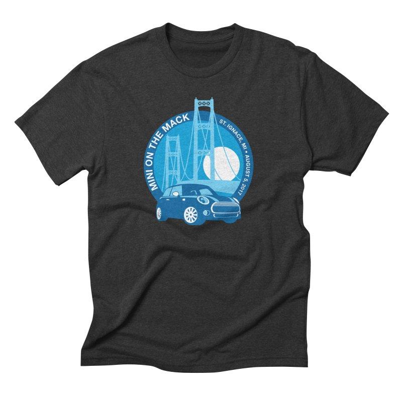 MINI on the Mack Men's Triblend T-Shirt by TwistyMini Motoring Shirts