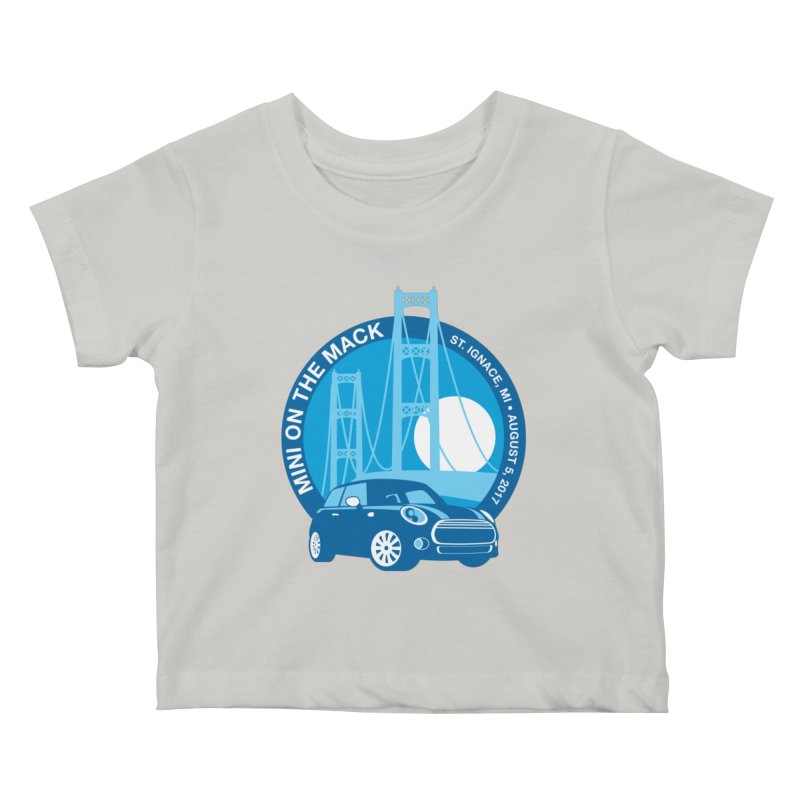 MINI on the Mack 2017 Kids Baby T-Shirt by TwistyMini Motoring Shirts