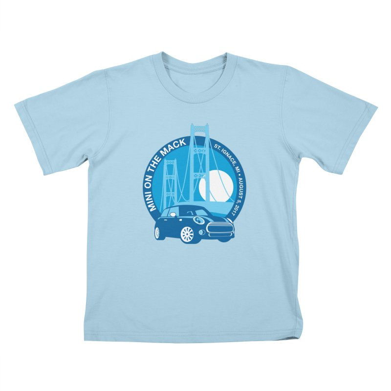MINI on the Mack 2017 Kids T-Shirt by TwistyMini Motoring Shirts
