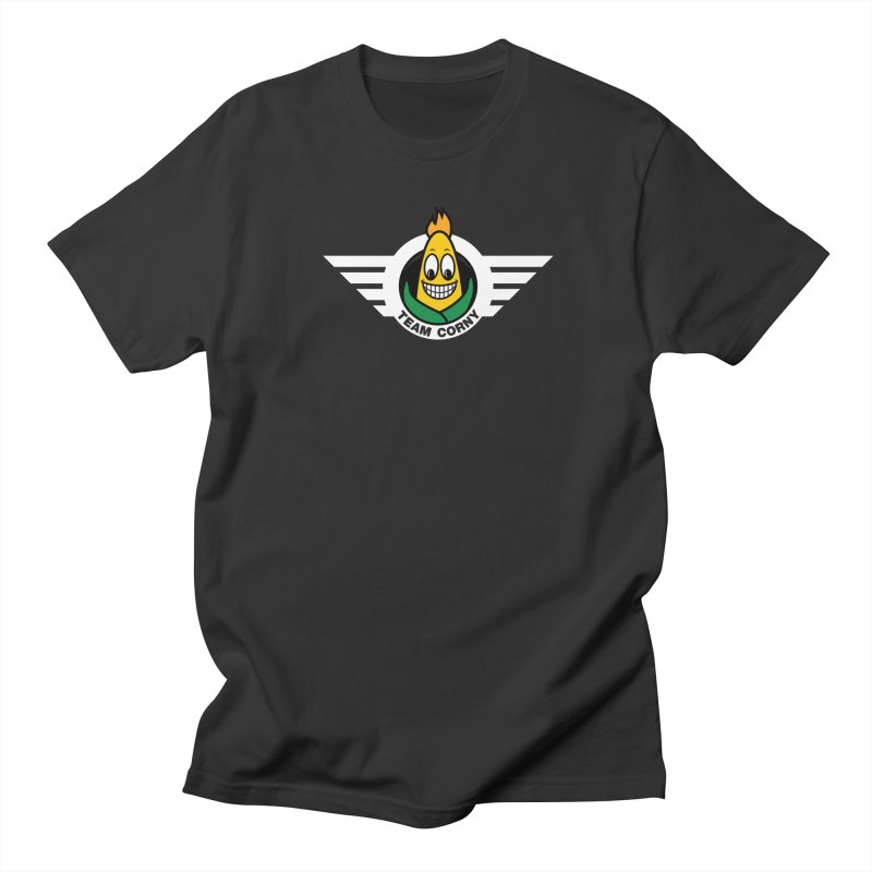 Team Corny Men's T-Shirt by TwistyMini Motoring Shirts