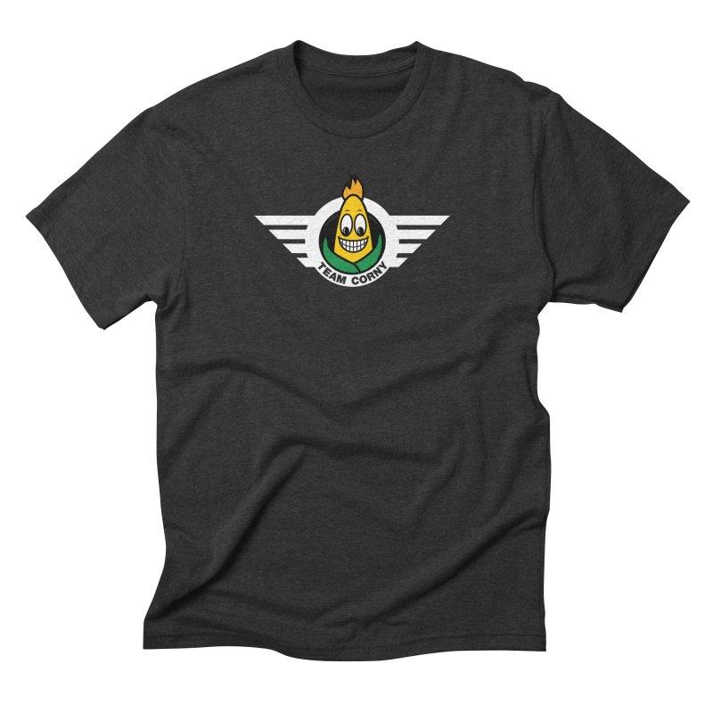 Team Corny Men's Triblend T-Shirt by TwistyMini Motoring Shirts