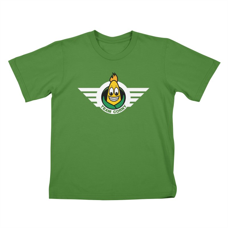 Team Corny Kids T-Shirt by TwistyMini Motoring Shirts