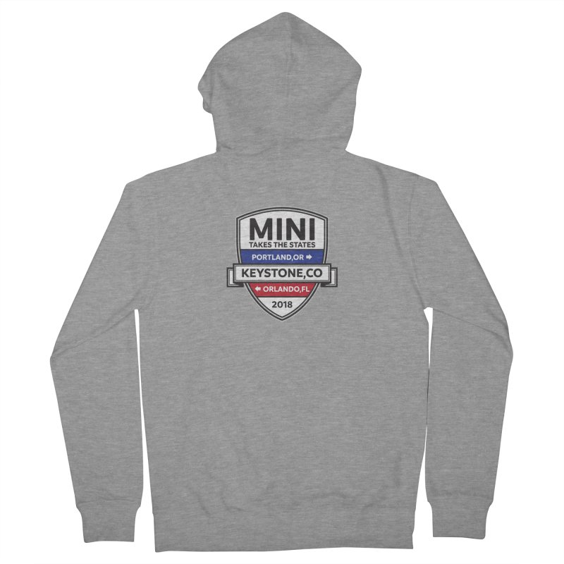 MTTS 2018 - Color Women's French Terry Zip-Up Hoody by TwistyMini Motoring Shirts