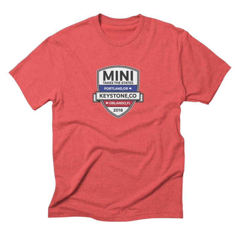 MTTS 2018 - Color Men's Triblend T-Shirt by TwistyMini Motoring Shirts