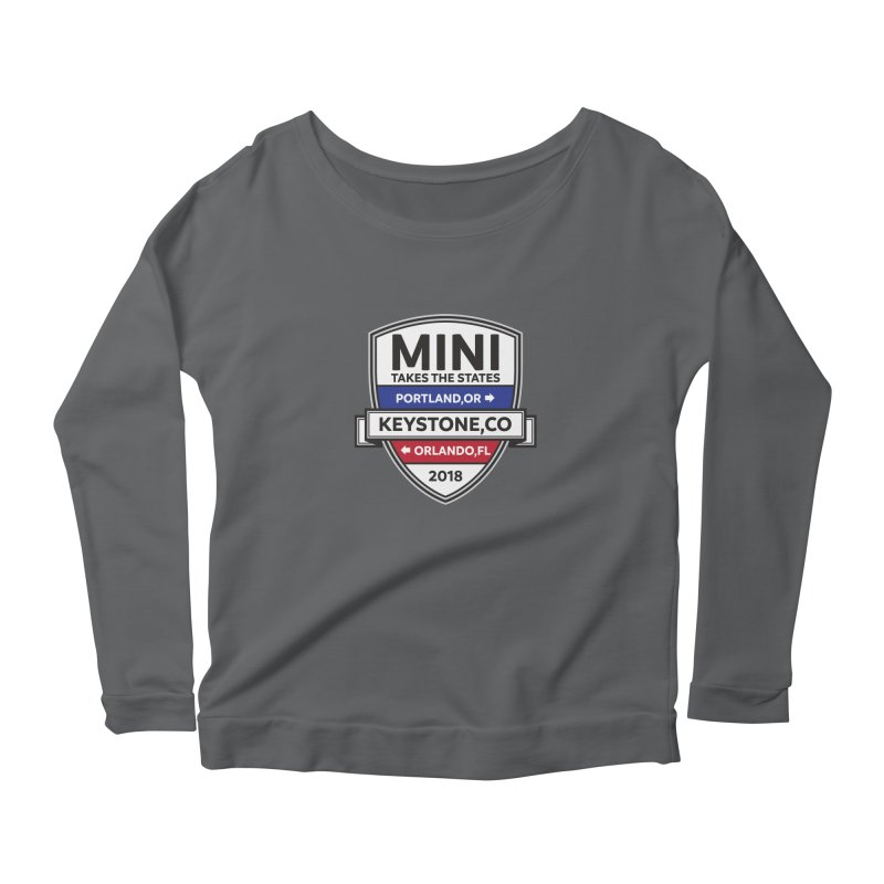 MTTS 2018 - Color Women's Scoop Neck Longsleeve T-Shirt by TwistyMini Motoring Shirts