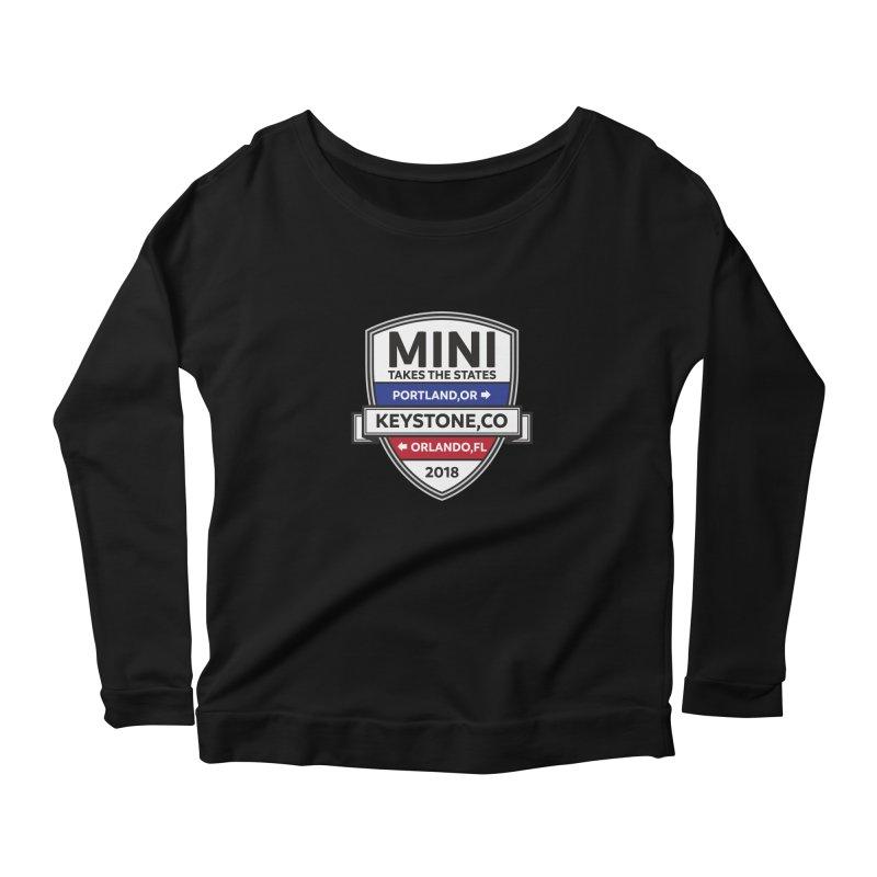 MTTS 2018 - Color Women's Scoop Neck Longsleeve T-Shirt by TwistyMini Motoring Shirts