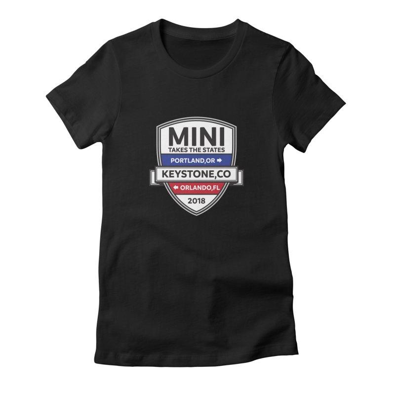 MTTS 2018 - Color Women's T-Shirt by TwistyMini Motoring Shirts