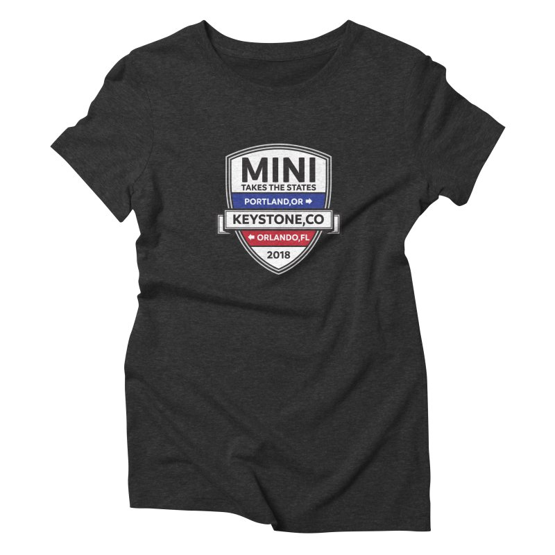 MTTS 2018 - Color Women's Triblend T-Shirt by TwistyMini Motoring Shirts