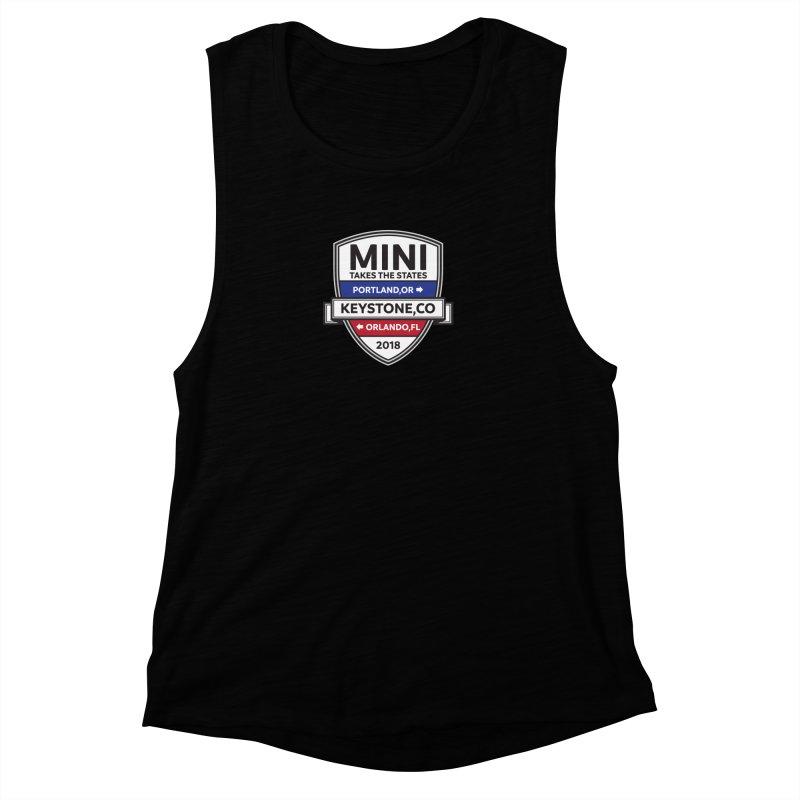 MTTS 2018 - Color Women's Muscle Tank by TwistyMini Motoring Shirts