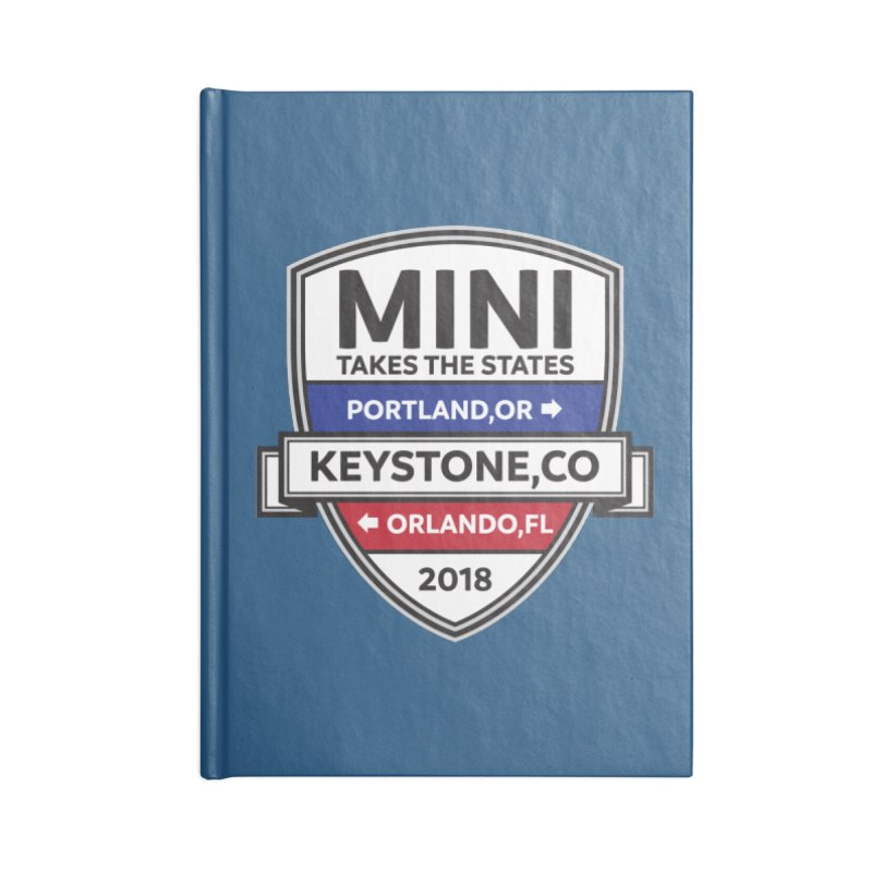 Mini Takes the States (Color) Accessories Notebook by TwistyMini Motoring Shirts
