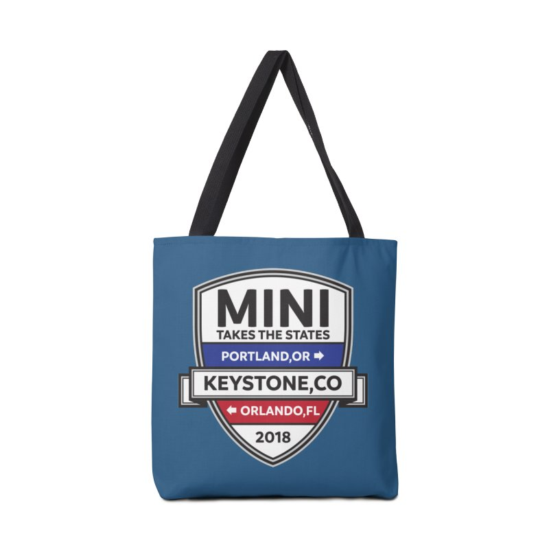 Mini Takes the States (Color) Accessories Bag by TwistyMini Motoring Shirts