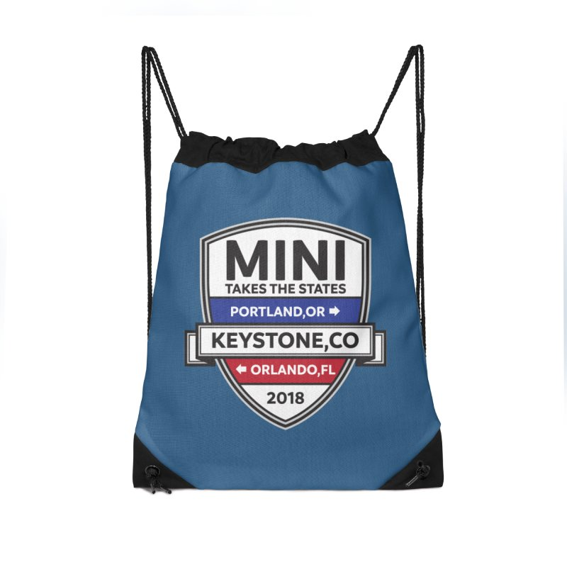 MTTS 2018 - Color Accessories Drawstring Bag Bag by TwistyMini Motoring Shirts