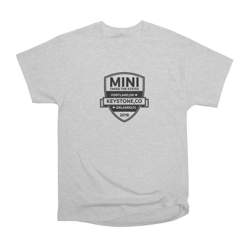 MTTS 2018 - Black Women's Heavyweight Unisex T-Shirt by TwistyMini Motoring Shirts