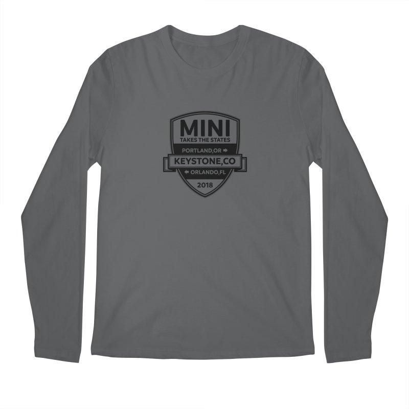 MTTS 2018 - Black Men's Regular Longsleeve T-Shirt by TwistyMini Motoring Shirts