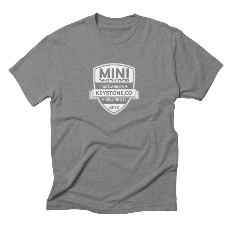 MTTS 2018 - White Men's Triblend T-Shirt by TwistyMini Motoring Shirts