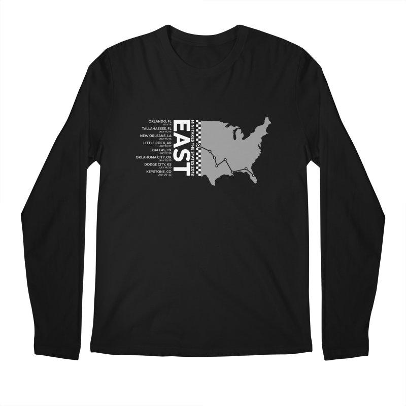 MTTS 2018 - East Men's Regular Longsleeve T-Shirt by TwistyMini Motoring Shirts