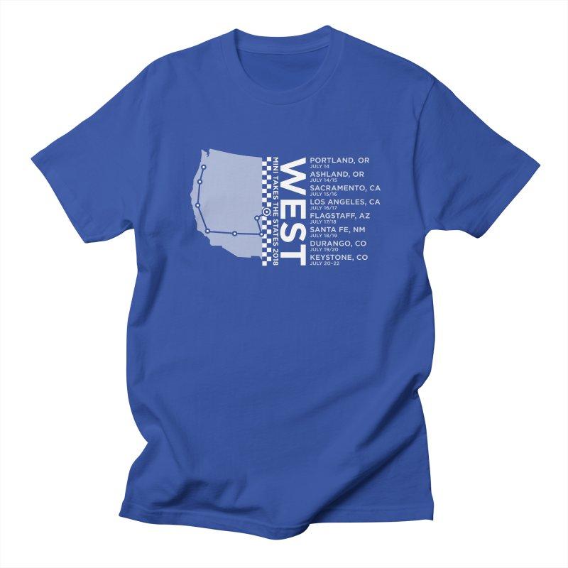 MTTS 2018 - West Men's Regular T-Shirt by TwistyMini Motoring Shirts