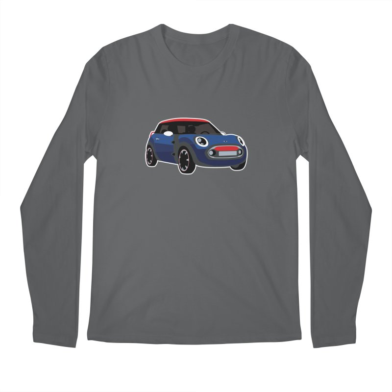 Rocketman Men's Longsleeve T-Shirt by TwistyMini Motoring Shirts