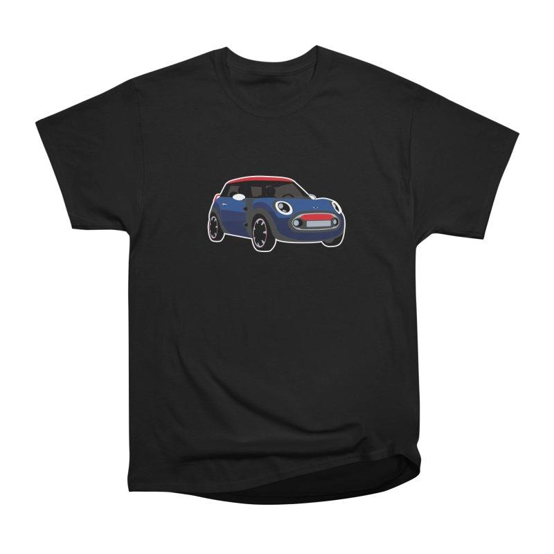 Rocketman Women's Heavyweight Unisex T-Shirt by TwistyMini Motoring Shirts