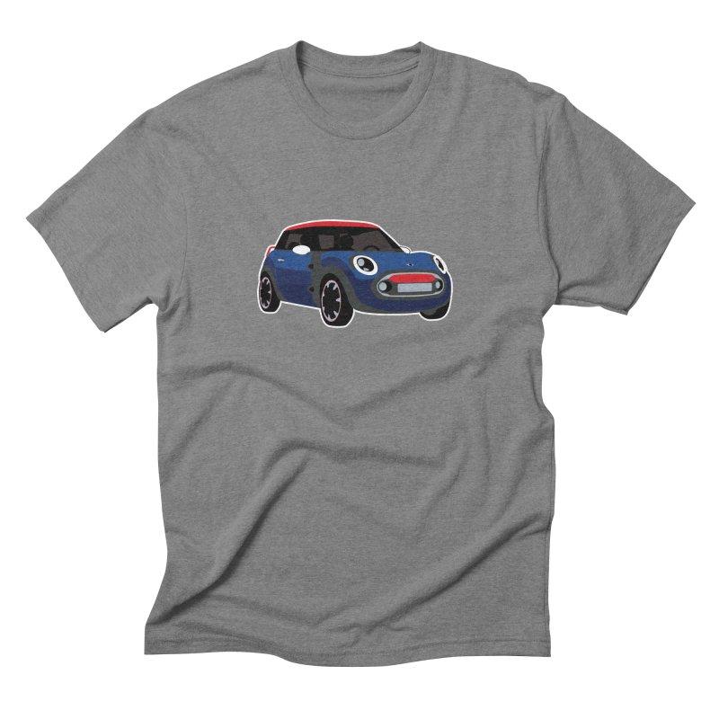 Rocketman Men's Triblend T-Shirt by TwistyMini Motoring Shirts