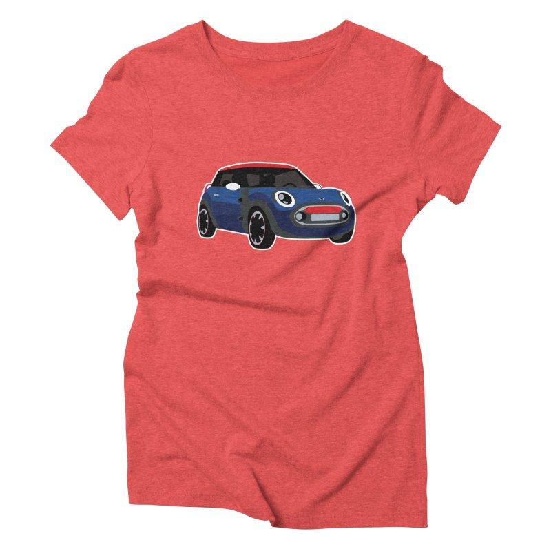 Rocketman Women's Triblend T-Shirt by TwistyMini Motoring Shirts