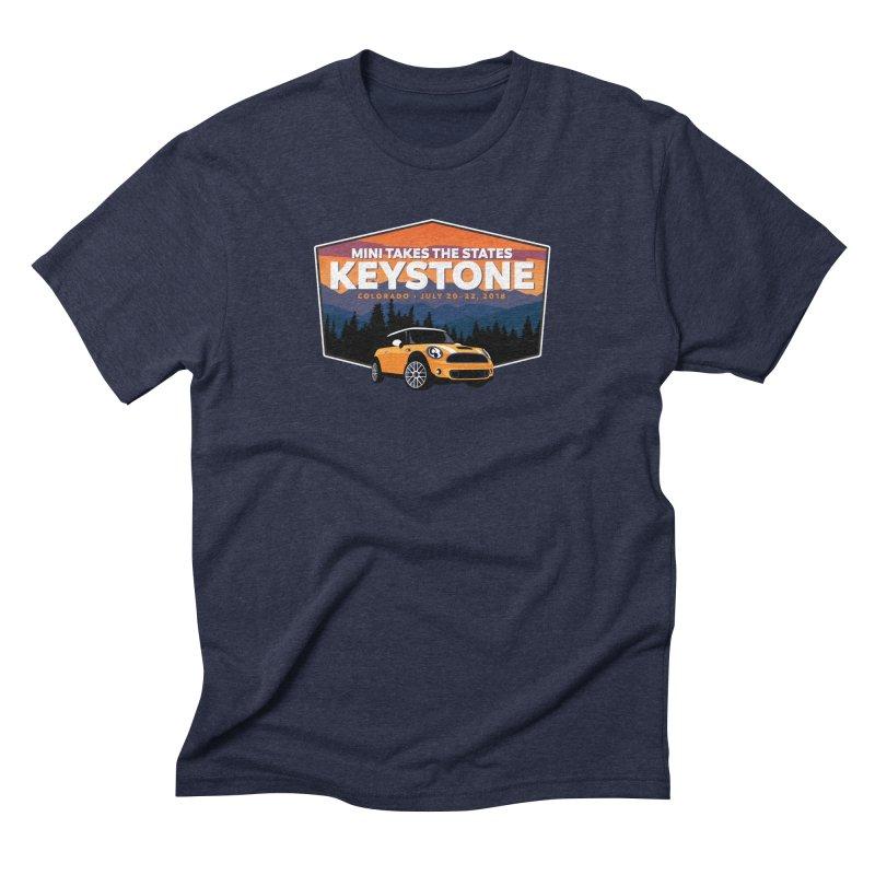 Keystone - MTTS 2018 Men's Triblend T-Shirt by TwistyMini Motoring Shirts
