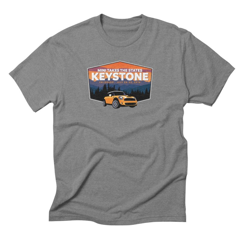 MTTS 2018 - Keystone Men's Triblend T-Shirt by TwistyMini Motoring Shirts