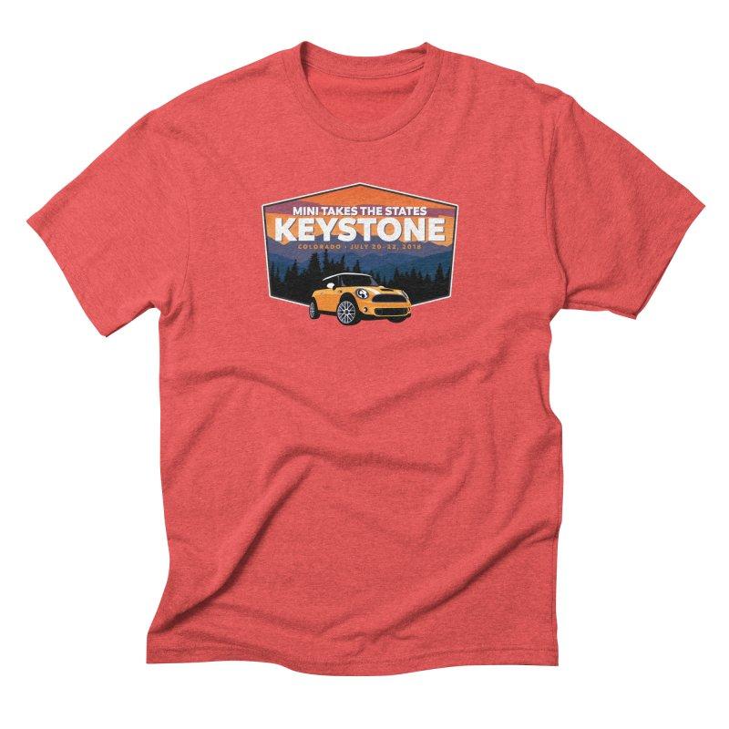MTTS 2018 - Keystone Men's Triblend T-Shirt by TwistyMini Motoring Shirts