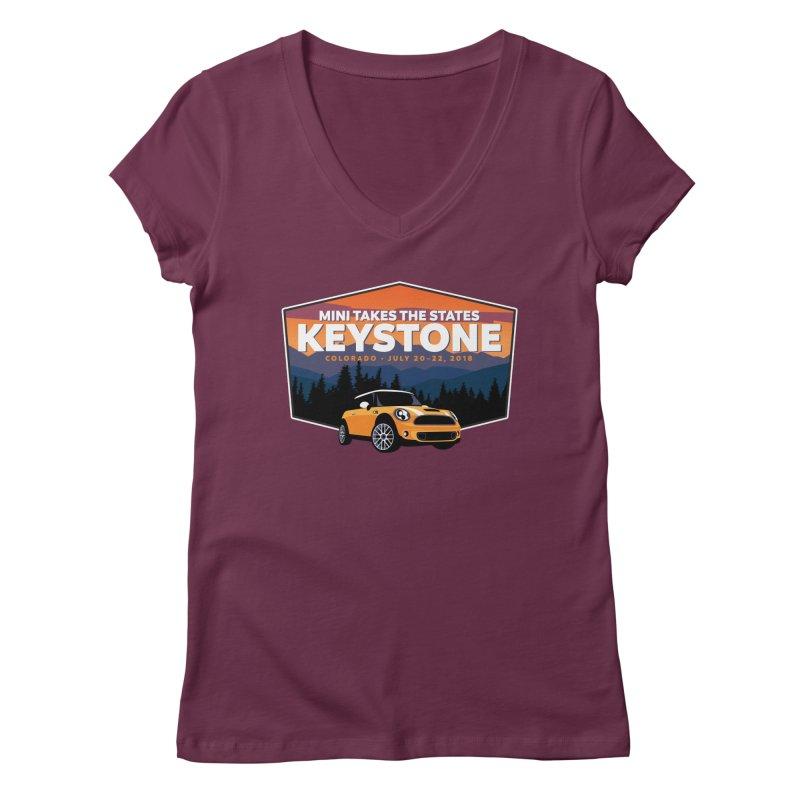MTTS 2018 - Keystone Women's Regular V-Neck by TwistyMini Motoring Shirts