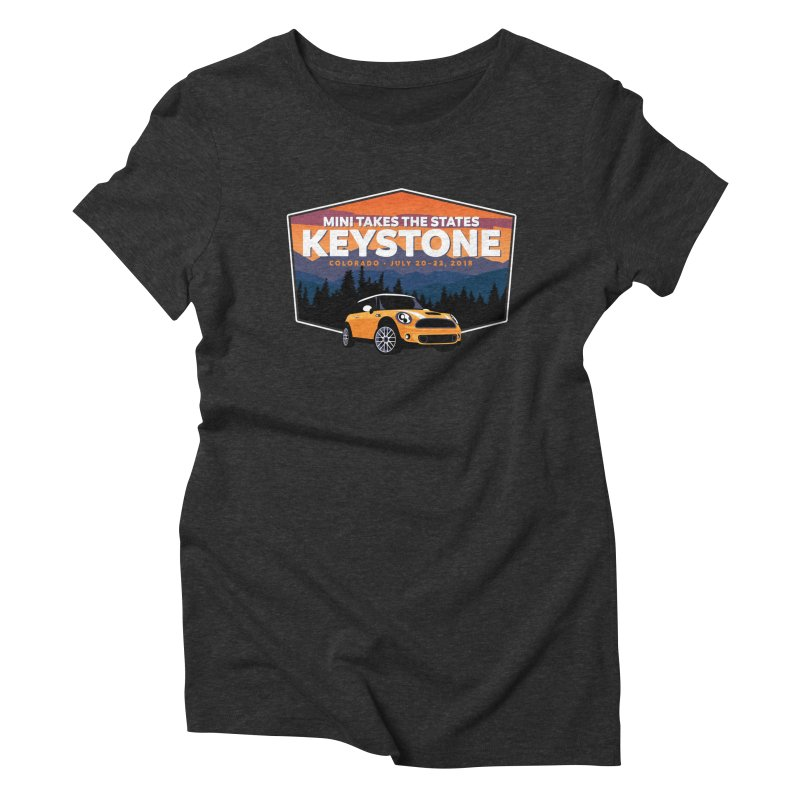 Keystone - MTTS 2018 Women's Triblend T-Shirt by TwistyMini Motoring Shirts