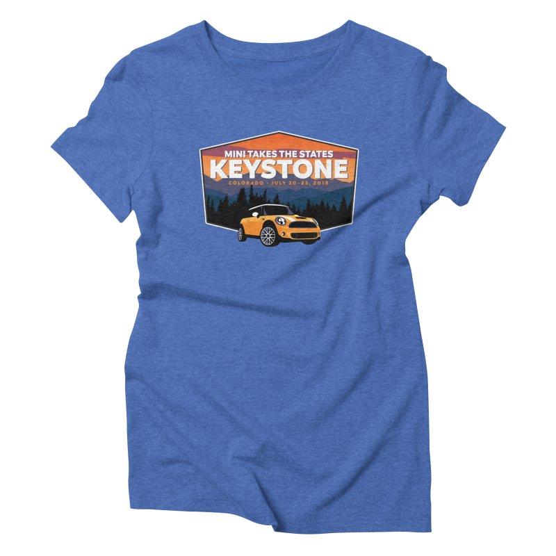 MTTS 2018 - Keystone Women's Triblend T-Shirt by TwistyMini Motoring Shirts