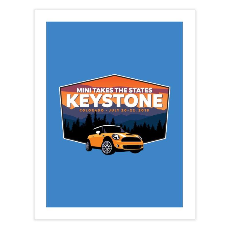 MTTS 2018 - Keystone Home Fine Art Print by TwistyMini Motoring Shirts