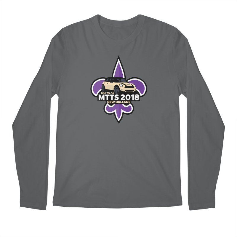 MTTS 2018 - New Orleans Men's Regular Longsleeve T-Shirt by TwistyMini Motoring Shirts