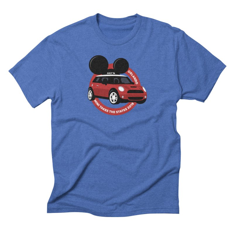 MTTS 2018 - Orlando Men's Triblend T-Shirt by TwistyMini Motoring Shirts