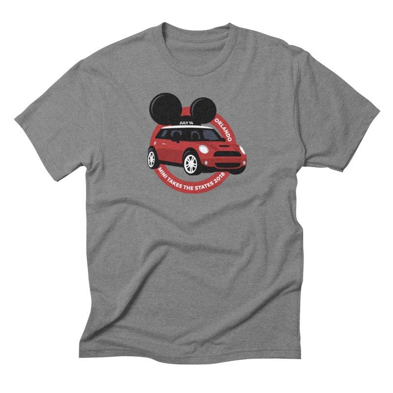 MTTS 2018 - Orlando Men's Triblend T-Shirt by TwistyMini Motoring Shirts