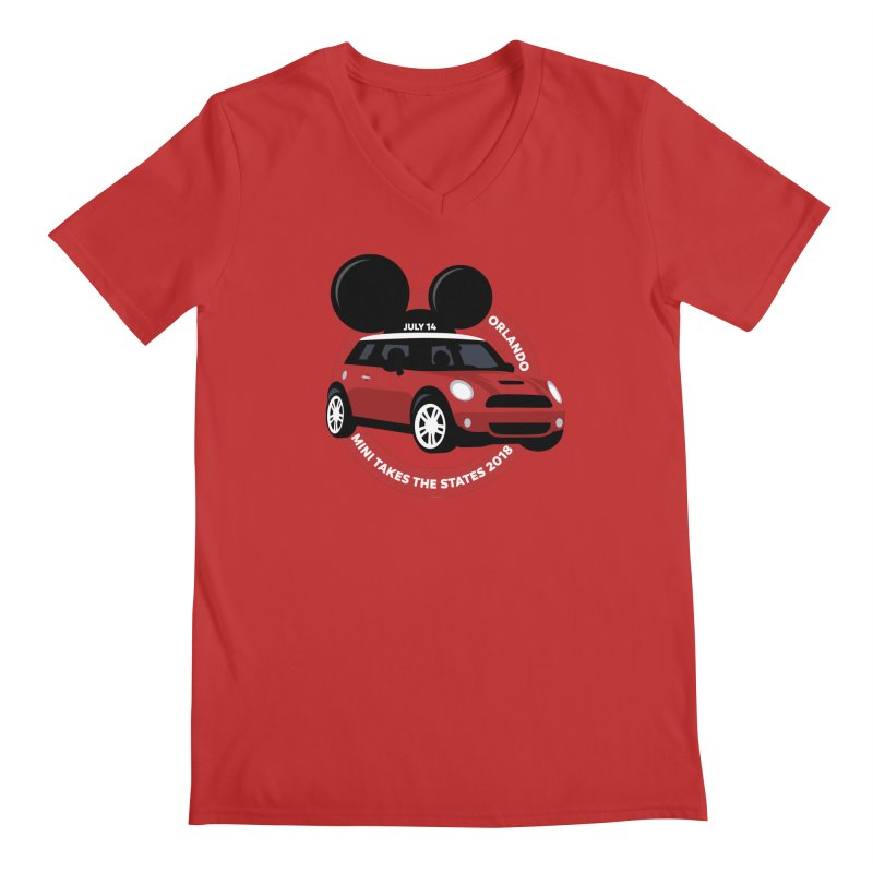 MTTS 2018 - Orlando Men's Regular V-Neck by TwistyMini Motoring Shirts