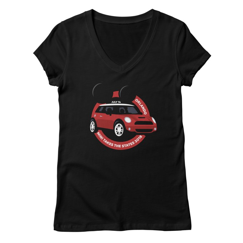 MTTS 2018 - Orlando Women's Regular V-Neck by TwistyMini Motoring Shirts