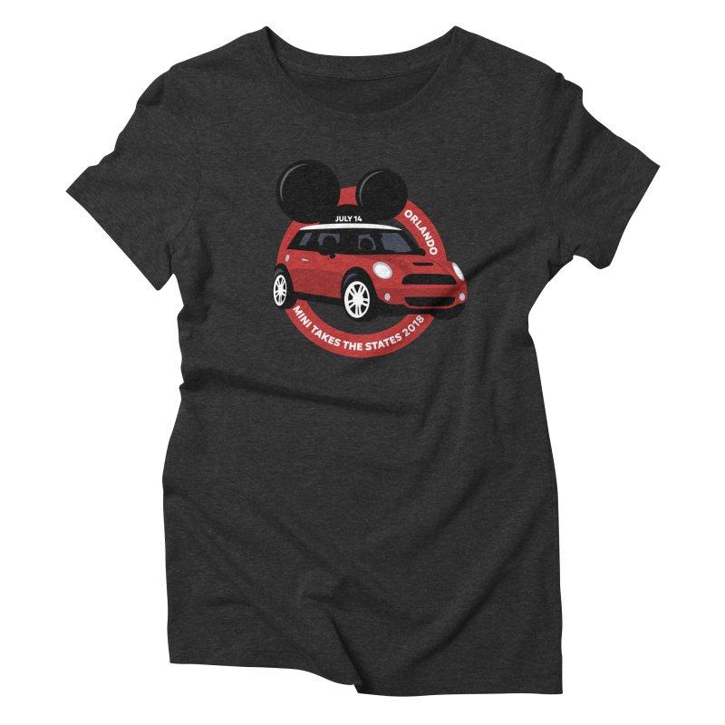 MTTS 2018 - Orlando Women's Triblend T-Shirt by TwistyMini Motoring Shirts