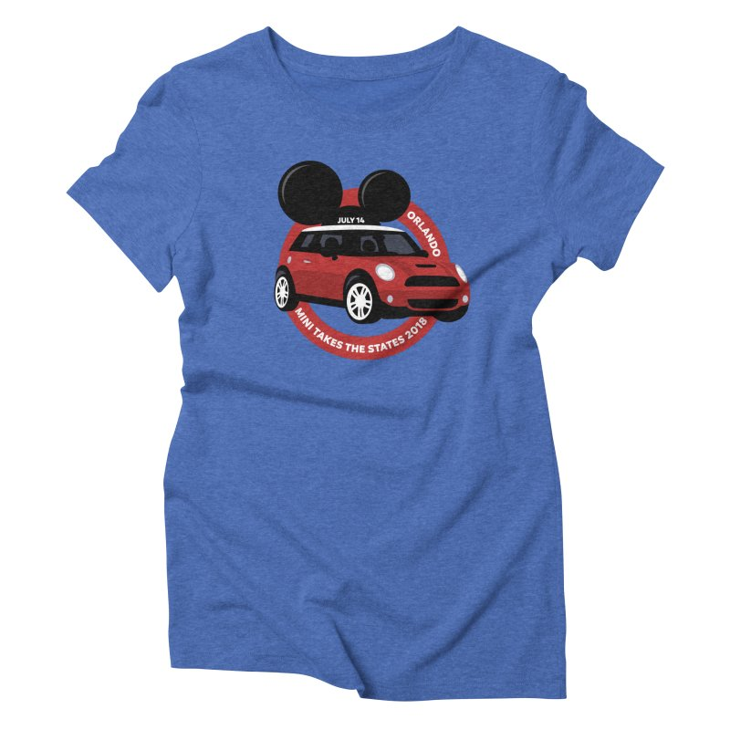 MTTS 2018 - Orlando Women's Triblend T-Shirt by TwistyMini Motoring Shirts