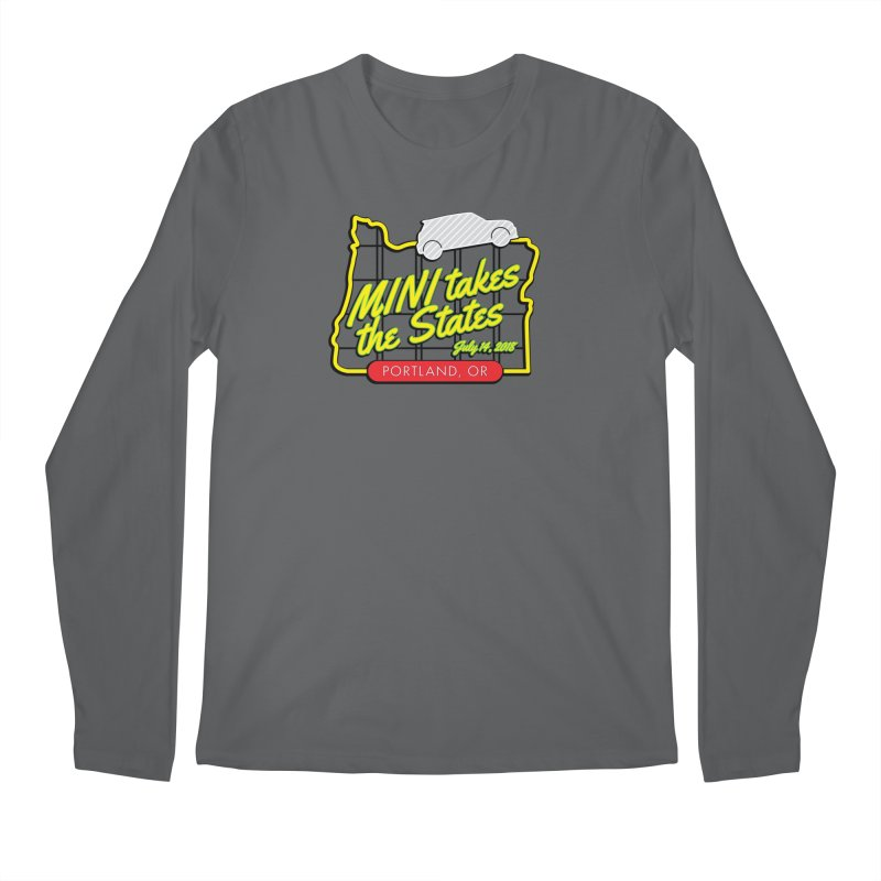 MTTS 2018 - Portland Men's Longsleeve T-Shirt by TwistyMini Motoring Shirts