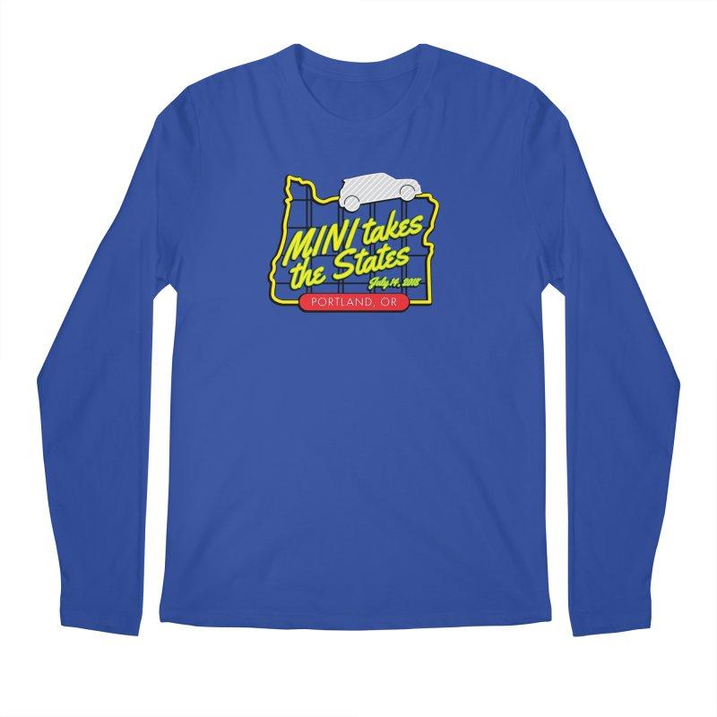 MTTS 2018 - Portland Men's Regular Longsleeve T-Shirt by TwistyMini Motoring Shirts