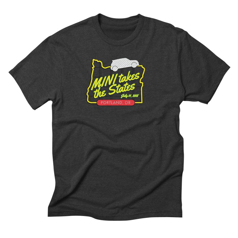 MTTS 2018 - Portland Men's Triblend T-Shirt by TwistyMini Motoring Shirts