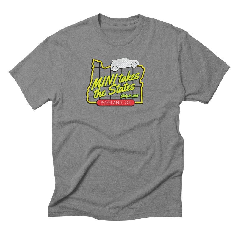MTTS 2018 - Portland Men's Triblend T-Shirt by TwistyMini Motoring Shirts